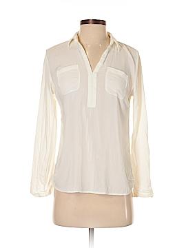 Ann Taylor LOFT Outlet Long Sleeve Button-Down Shirt Size S (Petite)