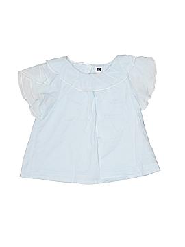 Janie and Jack Short Sleeve Blouse Size 3