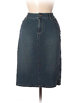 Coldwater Creek Denim Skirt Size 6