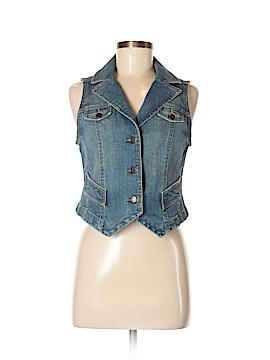 Ann Taylor LOFT Denim Vest Size 4