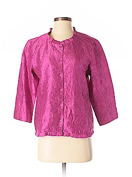 Eileen Fisher Short Sleeve Silk Top Size S