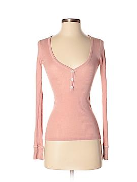Vanessa Bruno Long Sleeve Henley Size Sm (1)