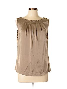 Classiques Entier Sleeveless Silk Top Size L