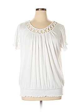 Carolyn Taylor Short Sleeve Top Size 1X (Plus)