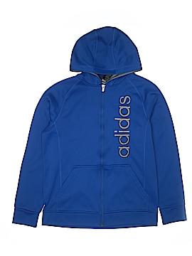 Adidas Zip Up Hoodie Size 18