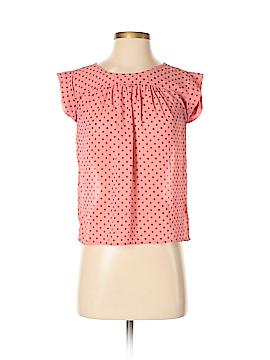 Dina Be Short Sleeve Blouse Size S