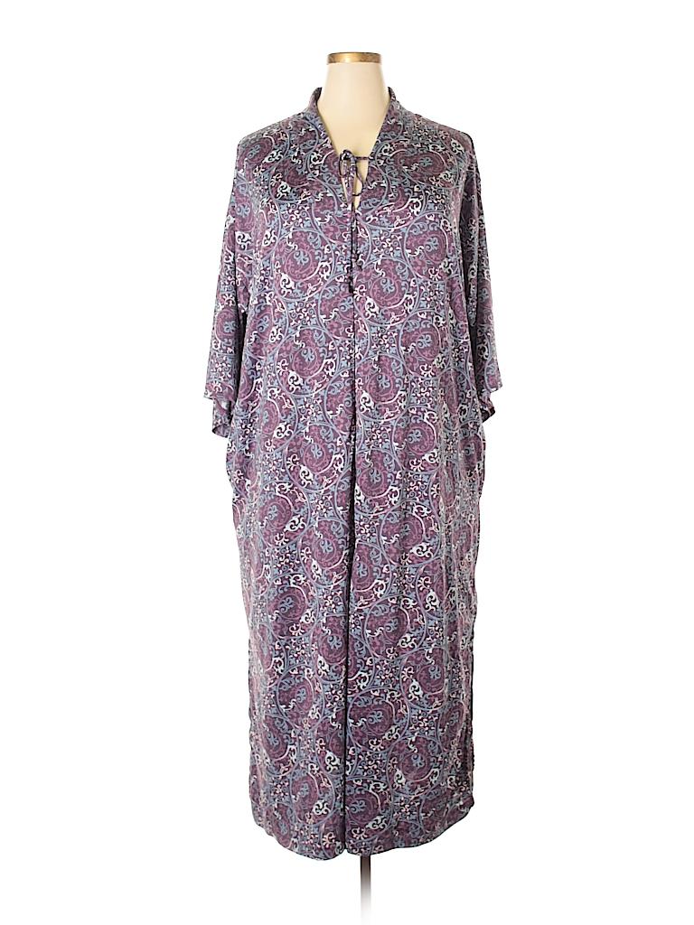 Stan Herman Women Casual Dress Size 1X (Plus)