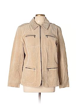I.E. Relaxed Leather Jacket Size XL (Petite)