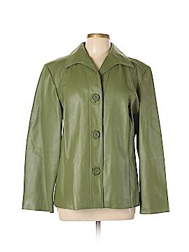 Preston & York Faux Leather Jacket Size XL