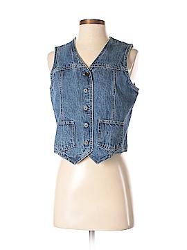Eddie Bauer Denim Vest Size S (Petite)