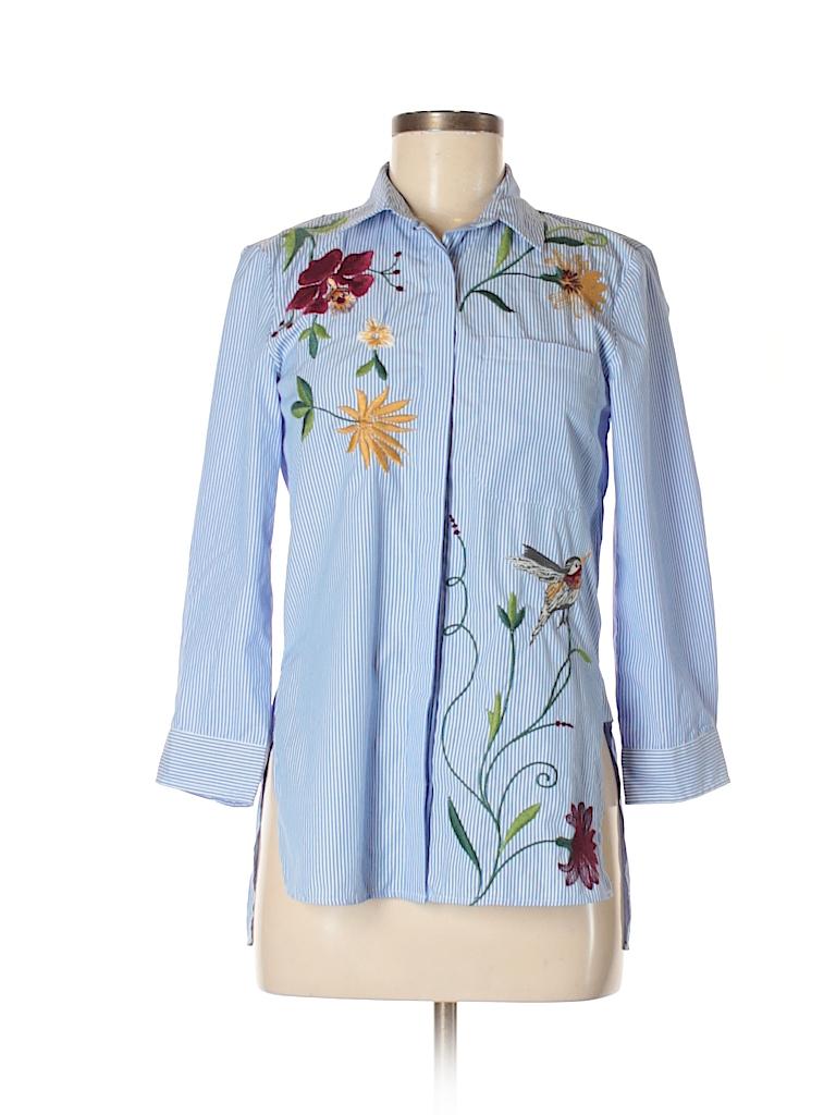 a9e08f1d Zara Long Sleeve Floral Dress With Buttons