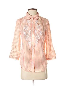 LC Lauren Conrad 3/4 Sleeve Button-Down Shirt Size S