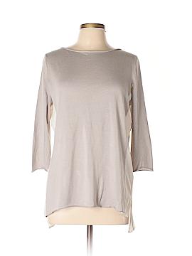 Fabiana Filippi 3/4 Sleeve Silk Top Size L