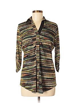 Venini Long Sleeve Button-Down Shirt Size M