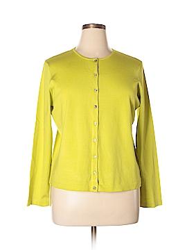 Jones New York Silk Cardigan Size XL