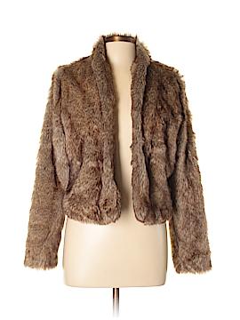 Hollister Faux Fur Jacket Size L