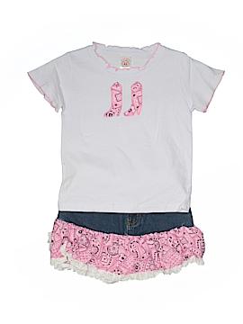 Kiddie Korral Short Sleeve T-Shirt Size 7