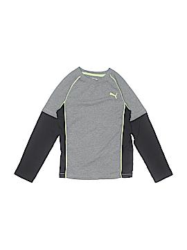 Puma Long Sleeve T-Shirt Size 7