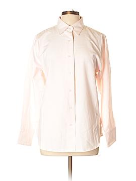 Jerzees Long Sleeve Button-Down Shirt Size L