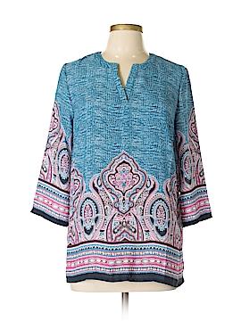 Ava Christine 3/4 Sleeve Blouse Size M