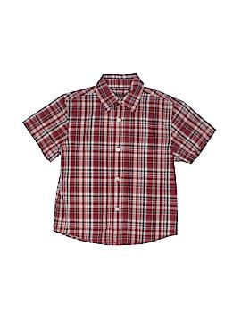 Arizona Jean Company Short Sleeve Button-Down Shirt Size L (Kids)