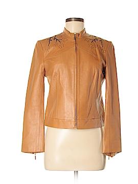 BCBGMAXAZRIA Leather Jacket Size 6