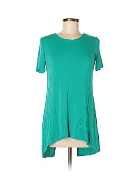 LOGO by Lori Goldstein Short Sleeve T-Shirt Size XXS