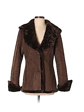 Calvin Klein Faux Fur Jacket Size S