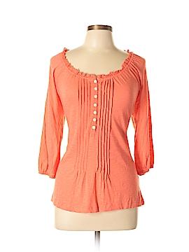 Lauren by Ralph Lauren 3/4 Sleeve Henley Size L