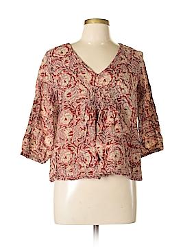 World Market 3/4 Sleeve Blouse Size M