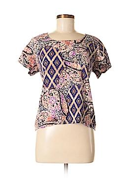 Belle Du Jour Short Sleeve Blouse Size XL