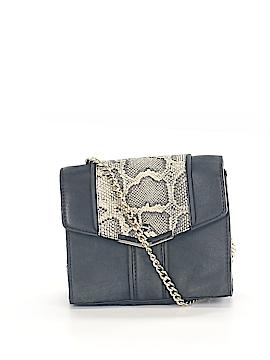 Zara Basic Leather Clutch One Size