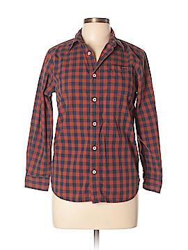 Tucker + Tate Long Sleeve Button-Down Shirt Size L