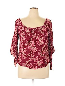 Venezia 3/4 Sleeve Blouse Size 14 - 16 Plus (Plus)