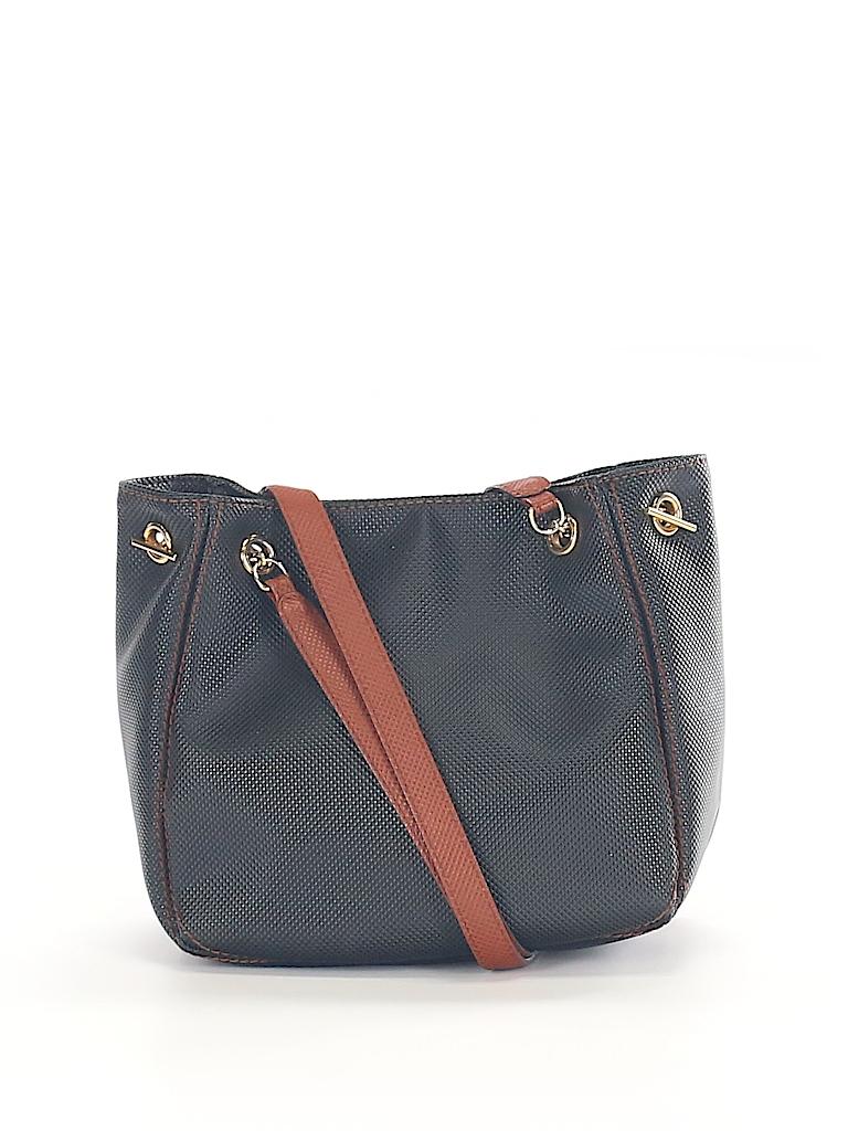 47f73c4a41bb Bottega Veneta Solid Black Shoulder Bag One Size - 68% off