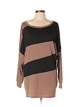 Allegra K Long Sleeve Top Size L