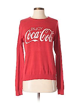 Coca-Cola Pullover Sweater Size S