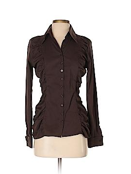 Le Chateau Long Sleeve Button-Down Shirt Size S
