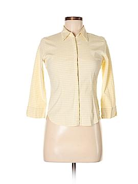Arizona Jean Company 3/4 Sleeve Button-Down Shirt Size M (Youth)