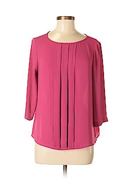 Ann Taylor LOFT 3/4 Sleeve Blouse Size M (Petite)