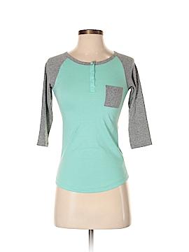 Zine 3/4 Sleeve Henley Size XS