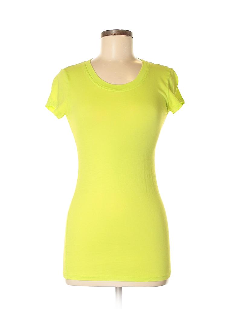 3709696726a Bobi 100% Cotton Solid Light Green Short Sleeve T-Shirt Size M - 83 ...