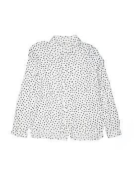 H&M Long Sleeve Button-Down Shirt Size 13