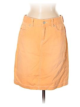 L.L.Bean Denim Skirt Size 6