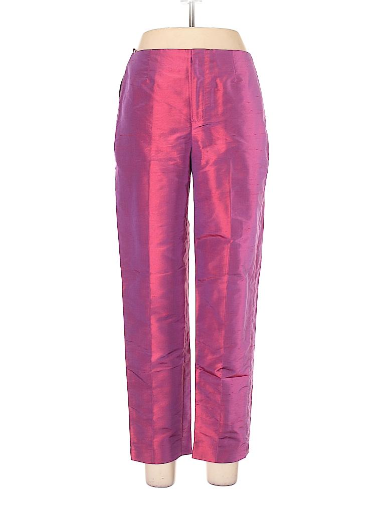 a99df37bc977 Gap 100% Silk Solid Pink Silk Pants Size 10 - 86% off   thredUP