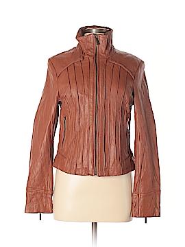 Steve Madden Leather Jacket Size M
