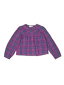 Strasburg Long Sleeve Button-Down Shirt Size 7