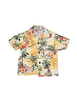 Hilo Hattie Short Sleeve Button-Down Shirt Size 12 mo