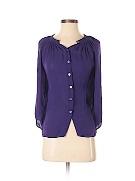 Creme Fraiche Long Sleeve Blouse Size S