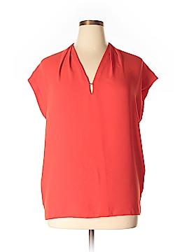 Anne Klein Short Sleeve Blouse Size 16